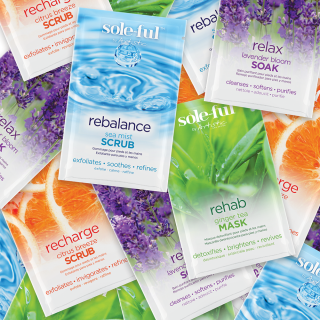 SOLE-FUL RELAX LAVENDER BLOOM