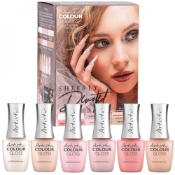Colour Gloss SHEERLY DEVOTED  Présentoir de 6 Colour Gloss